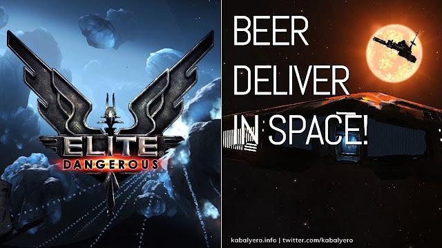 BEER Delivery in SPACE! 🚀 ELITE DANGEROUS Gameplay 2020 🍻