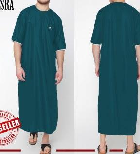 Model Baju Gamis Pria Lengan Panjang Pendek Terbaru