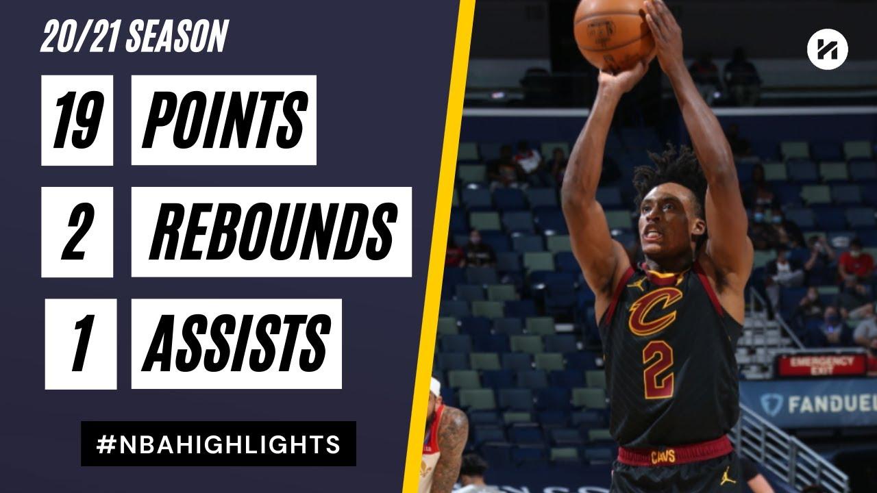 Collin Sexton 19pts vs NOP | March 12, 2021 | 2020-21 NBA Season