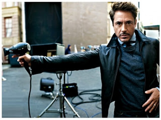 Gambar Jaket Kulit Robert Downey Jr Iron Man