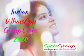 Indian Girls WhatsApp Group Links 2020 | Girls WhatsApp Group Links