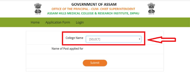 Diphu Medical College Recruitment 2019