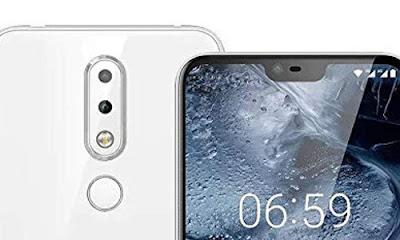 Nokia 6.1 Plus Camera X6