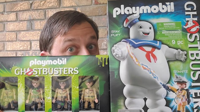 REVIEW: Playmobil Ghostbusters Figures and Stay Puft