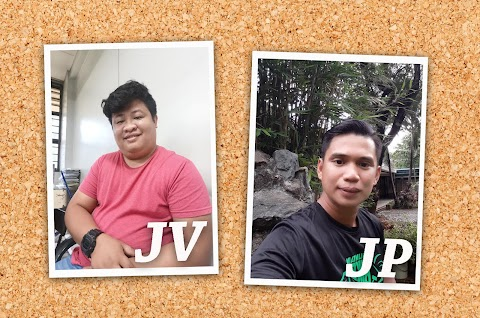 Meet JV and JP!  The new staff of Desktop and Printing Section