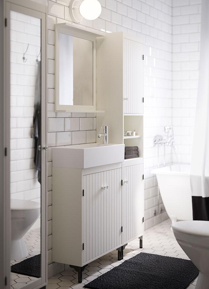 cute pinterest white ikea bathroom