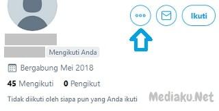 Cara Blokir Orang Di Twitter Lewat HP