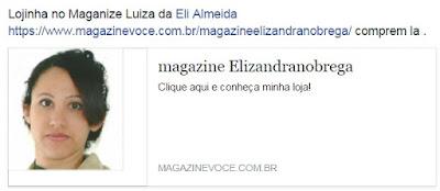 Compre na Lojinha da Elizandra - sempre as melhores promoções