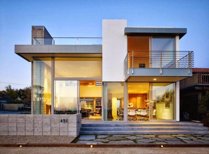15 Desain Rumah Modern Atap Datar Idaman Masa Kini Rumahku Unik