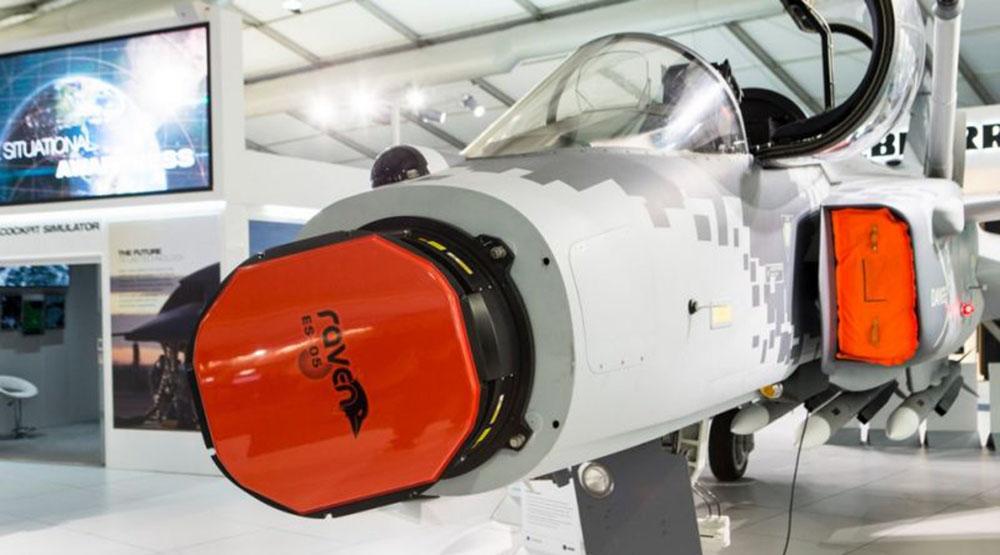 Swedia Gripen Radar