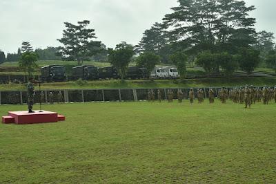 205 Prajurit TNI Dianugerahi Penghargaan dan Satya Lencana Canti Darma
