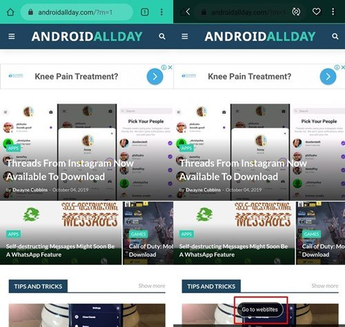 Screenshot Link Save