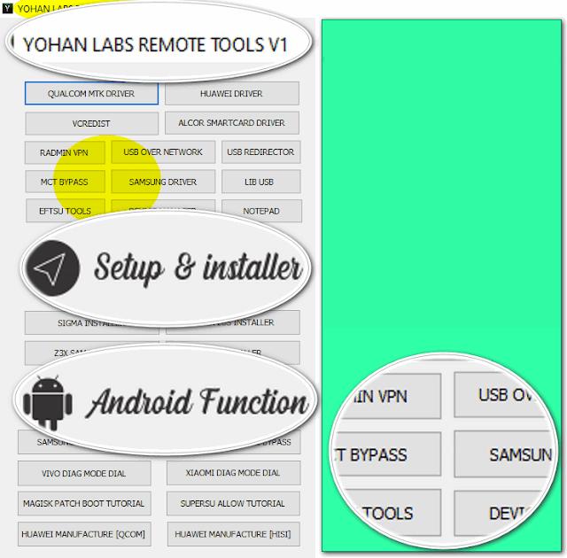 Yohan Labs Remote Tools V1