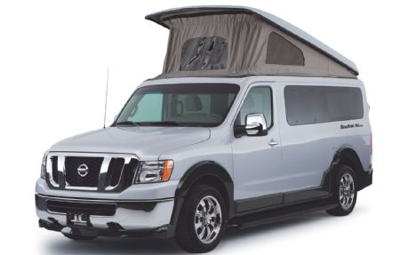 Nismo Stuff Perfect Tow Chase Crew Camping Vehicle