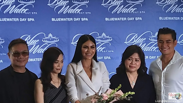 Gazini Ganados Joins Bluewater Day Spa