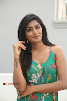 Actress Eesha Latest Pos in Green Floral Jumpsuit at Darshakudu Movie Teaser Launch .COM 0067.JPG