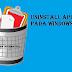 Cara Mudah Mencopot Atau Uninstall Aplikasi Pada Windows 7