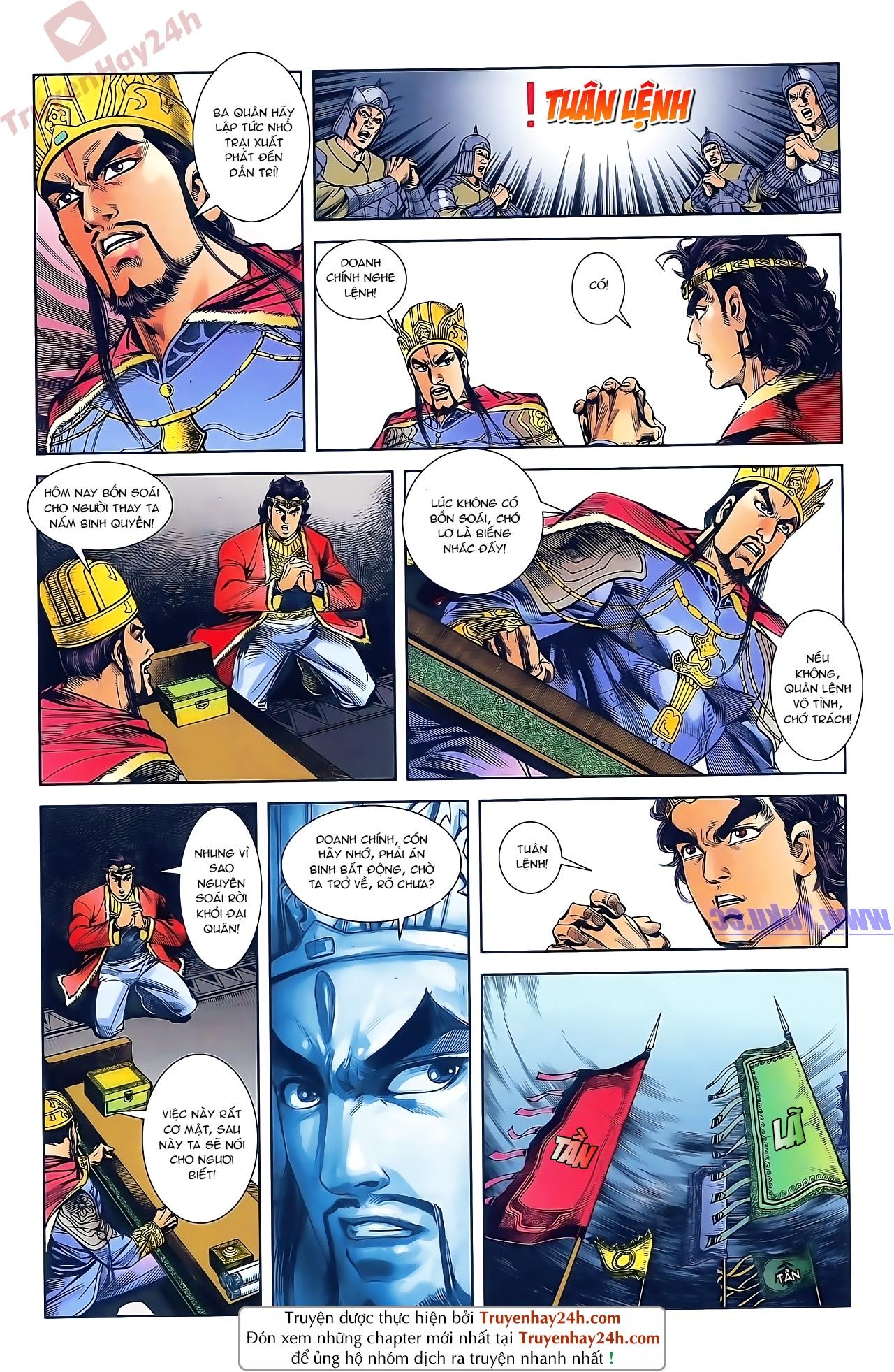 Tần Vương Doanh Chính chapter 47 trang 18