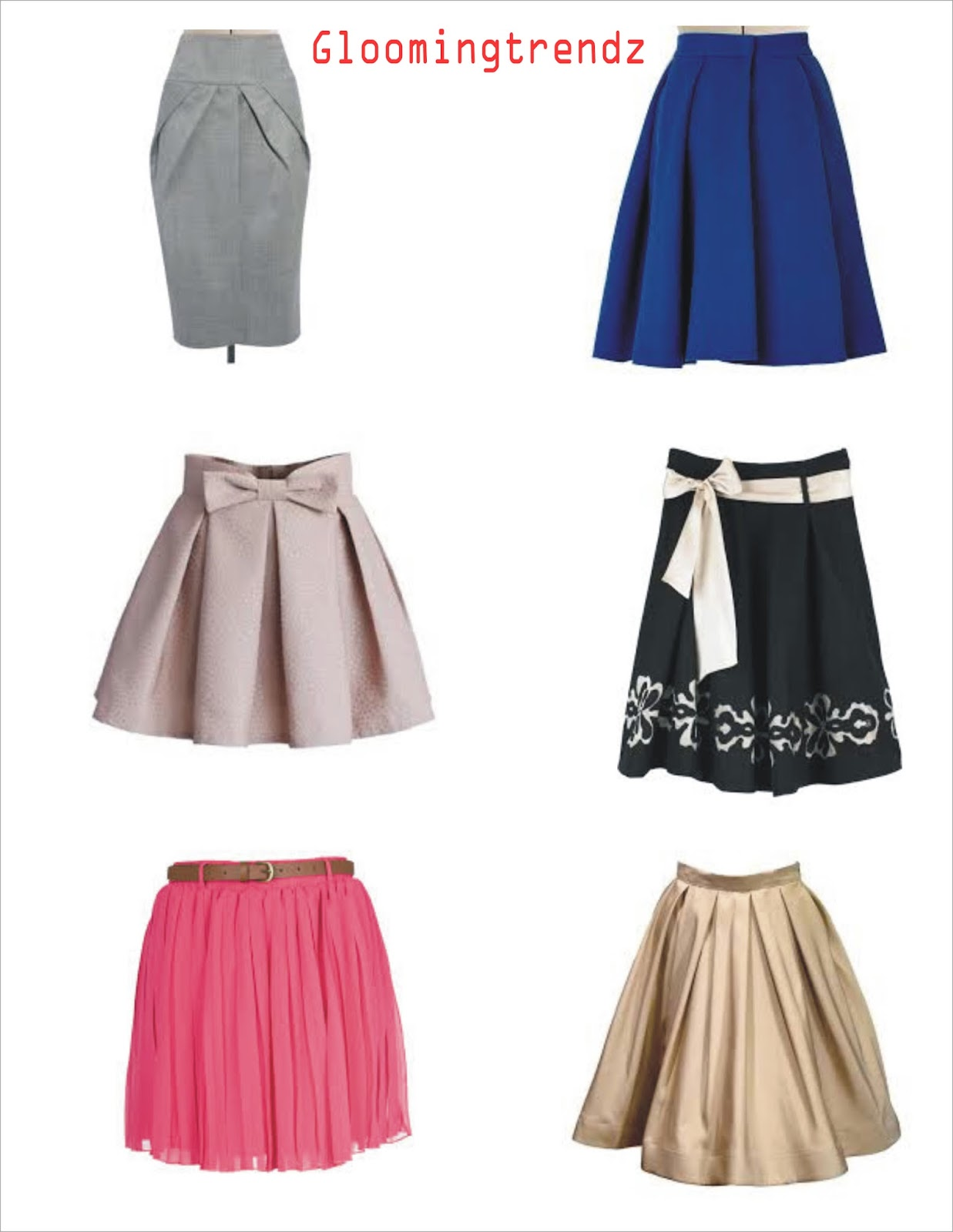 GLOOMING TRENDZ: HOW TO STYLE MIDI SKIRT