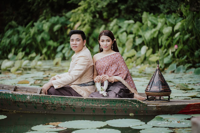 Long Vek costume | Pre-wedding