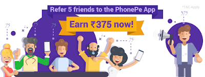 (New) PhonePe Refer & Earn: Rs 75 FREE Sign Up + PhonePe Referral Code