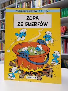 """""""Zupa ze smerfów"""" - Peyo - recenzja"""