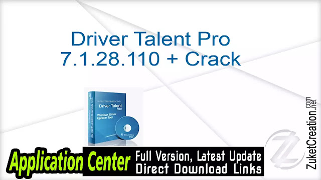Driver Talent Pro 7.1.28.110 + Crack