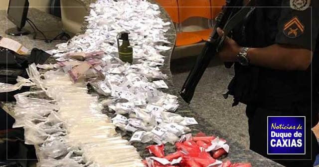 Criminoso é baleado após atacar policiais em comunidade de Duque de Caxias