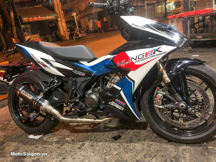 Honda Winner X kết hợp với Yamaha R1: Siêu phẩm đẹp như xe đua PKL