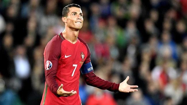 Kisah Duka Cristiano Ronaldo Di Euro Cup 2016