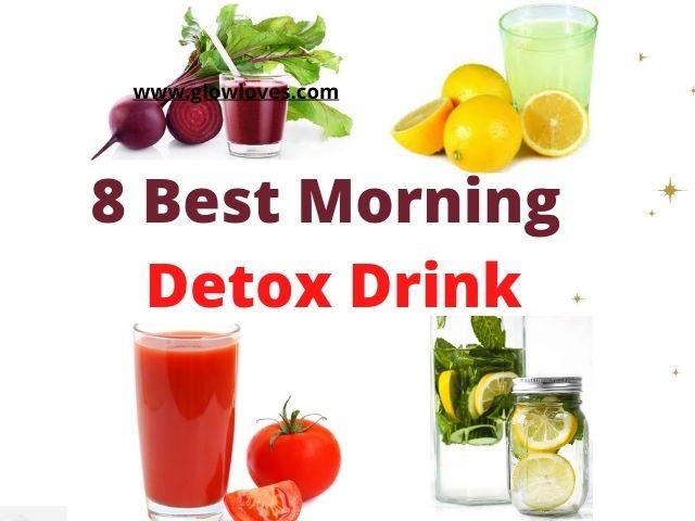 Morning Natural Detox Drink To Burn Fat