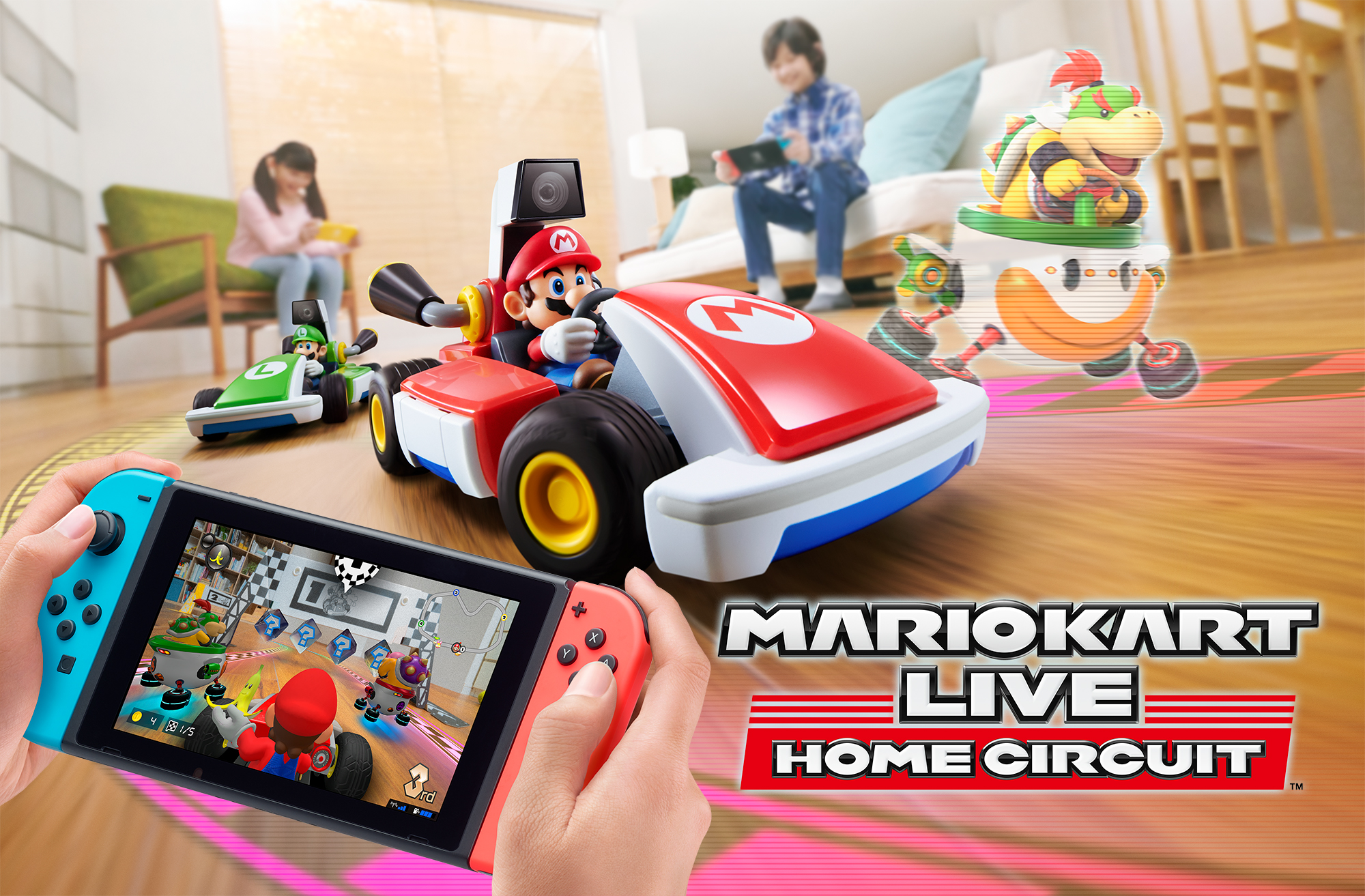 New Trailer Gives an In-depth Look at Mario Kart Live: Home Circuit for Nintendo Switch