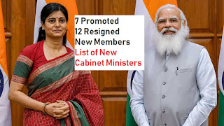 List of new ministers in Modi Cabinet 2021