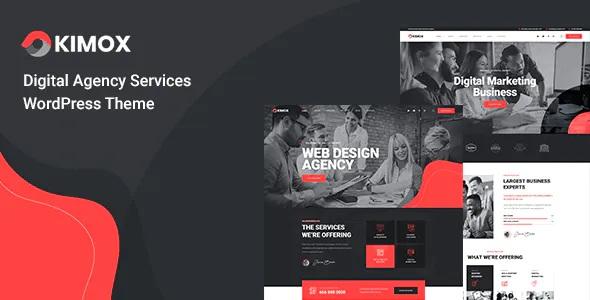 Best Digital Agency Services WordPress Theme