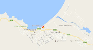 Donde Pablo Papudo mapa ubicación