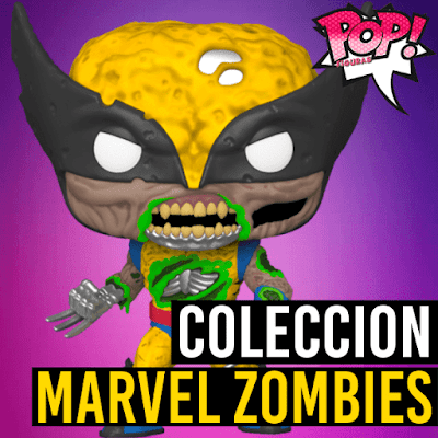 Lista de figuras Funko POP Marvel Zombies