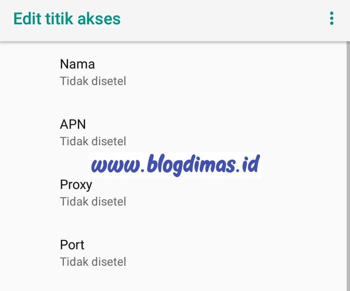 APN AHA Indosat