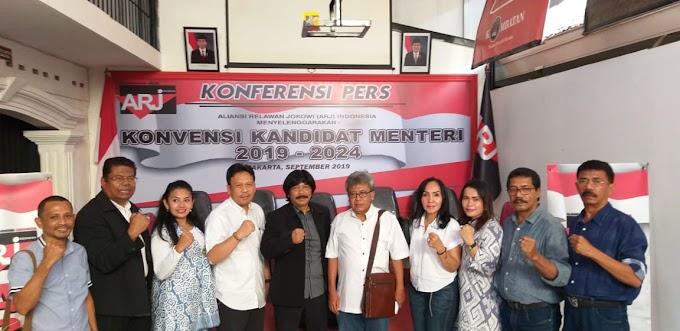 Usul Kandidat Menteri, ARJ Indonesia Akan Gelar Konvensi Visi Indonesia