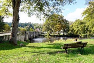 Ailleurs : Moutier d'Ahun, village de la Creuse propice aux jolies flâneries