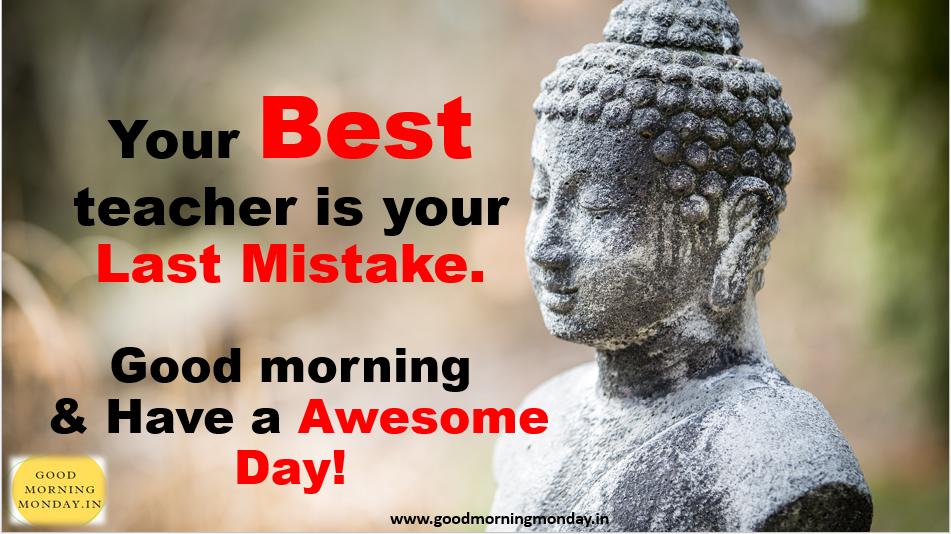 Good morning inspirational buddha quotes