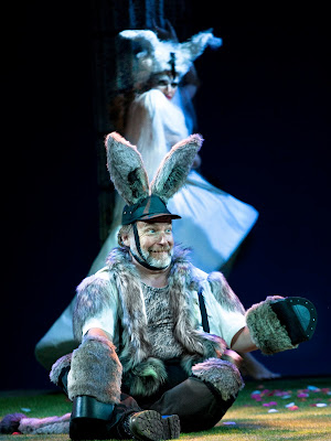 Britten: A Midsummer Night's Dream - Henry Waddington, Samantha Clarke - The Grange Festival (Photo Simon Annand)