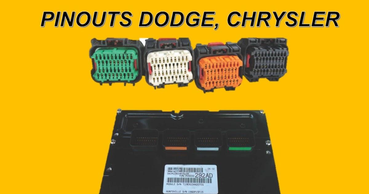 pinouts of chrysler , dodge,ram | pinouts of dodge stratus, pinouts of  voyager, pinouts of grand caravan, ram hemi wiring diagram  mi diagrama automotriz