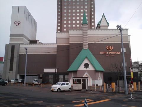 ホテル外観3 ホテルエミシア札幌カフェ・ドム