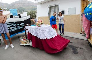 Carrera Tartanas 2015 - Mesa Camilla