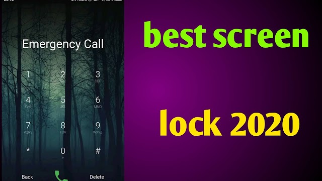 Best screen lock 2020