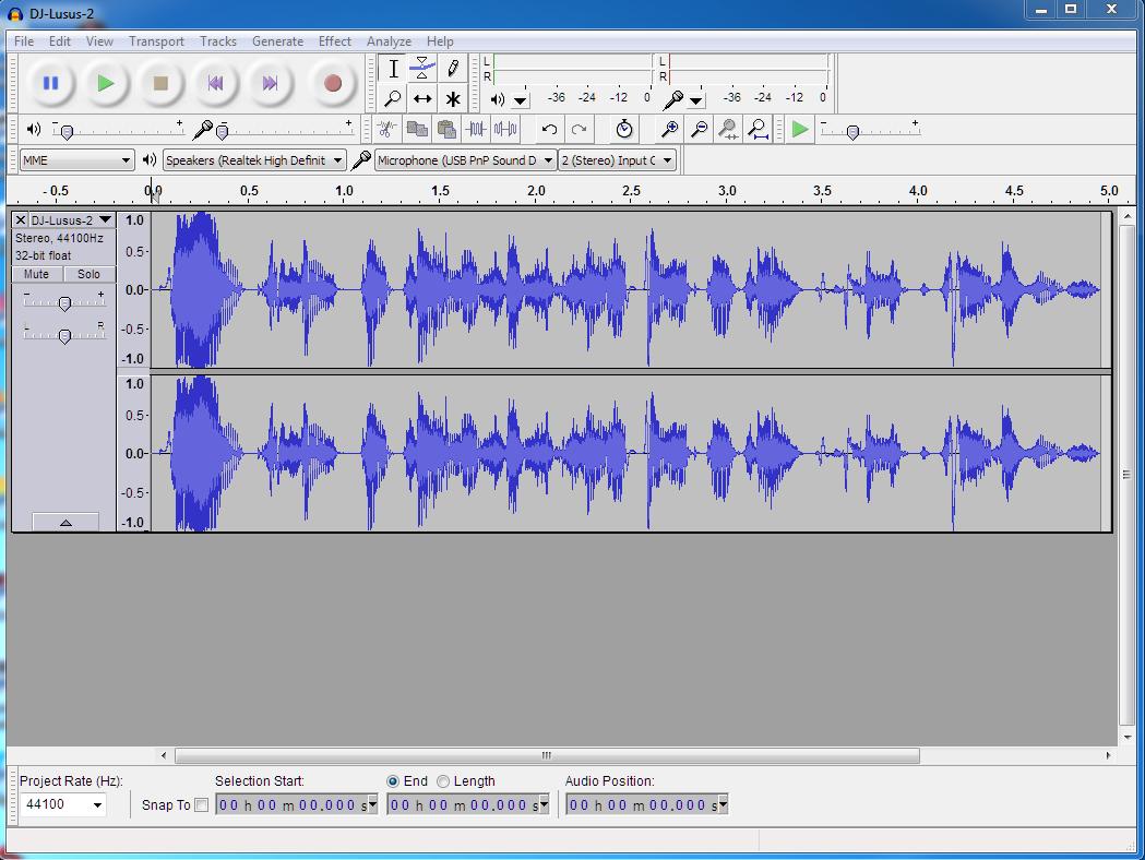 Audacity (audio editor)