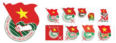 Logo Đoàn chuẩn vector Corel, Ai Download miễn phí