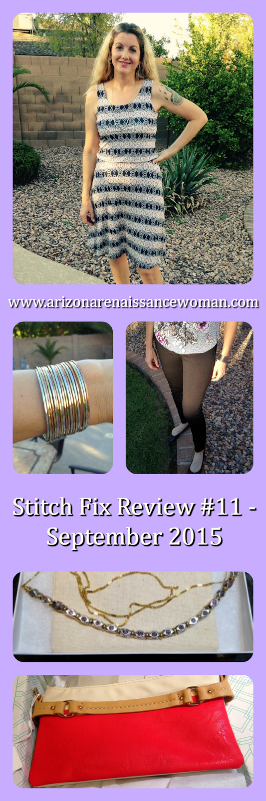 Stitch Fix Review #11 - September 2015 - Collage