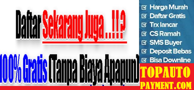 Tap Pulsa Top Auto Payment Server Tercanggih di Indonesia