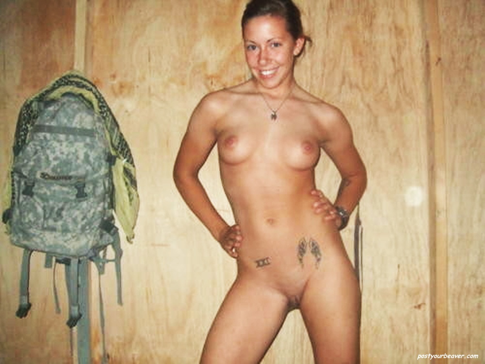 nude girls with military